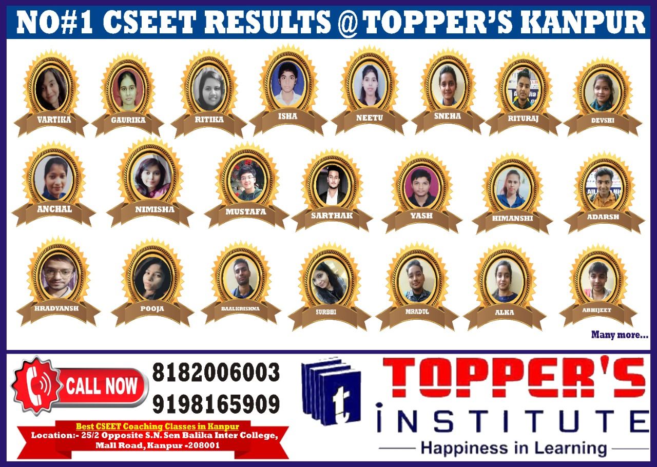 CSEET2020 RESULT OF TOPPERS INSTITUTE